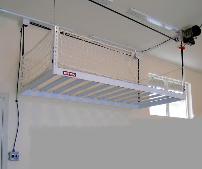 - Motorized Overhead Storage - Motorized Ceiling Storage System